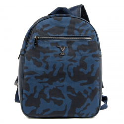 V 1969 Italia Mens Backpack Blue FISHER