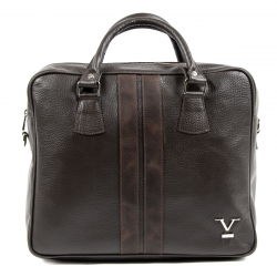 V 1969 Italia Mens Sport Bag Brown VENTURA