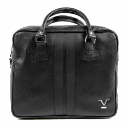 V 1969 Italia Mens Sport Bag Black VENTURA