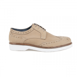 V 1969 Italia Mens Brogue Shoe Taupe HARRY