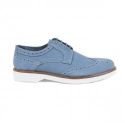 V 1969 Italia Mens Brogue Shoe Blue HARRY