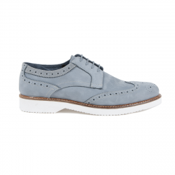 V 1969 Italia Mens Brogue Shoe Light Blue HARRY