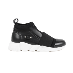 V 1969 Italia Mens Sneaker Black SIMON