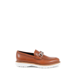 Salvatore Ferragamo Mens Loafer Tan COLLIN