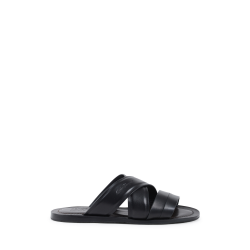 Salvatore Ferragamo Mens Slipper Black FILONE
