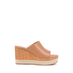 Salvatore Ferragamo Damen Wedge Sandale Tan MAIMEI