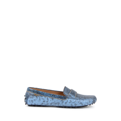 Salvatore Ferragamo Damen Loafer Hellblau FILM LUX