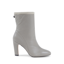 Stuart Weitzman Womens Ankle Boot Light Grey BROOKS