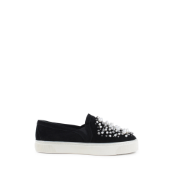 Stuart Weitzman Sneaker Slip On Donna Nero DECOR