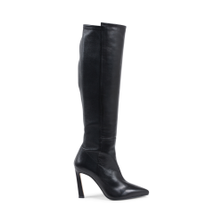 Stuart Weitzman Womens High Boot Black DEMI 100