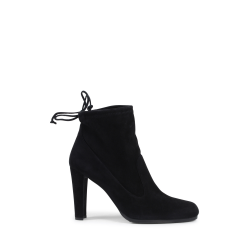 Stuart Weitzman Womens Ankle Boot Black GLOVE