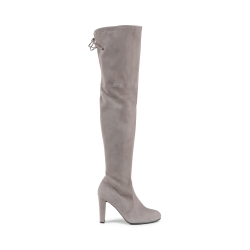 Stuart Weitzman Womens High Boot Taupe HIGHLAND