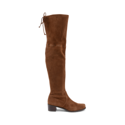 Stuart Weitzman Womens High Boot Brown MIDLAND