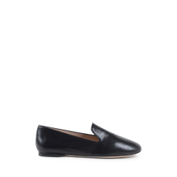 Stuart Weitzman Womens Slip On Loafer Black MYGUY