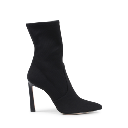 Stuart Weitzman Womens Ankle Boot Black RAPTURE 100