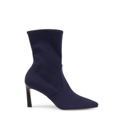 Stuart Weitzman Damen Ankle Boot Navy Blue RAPTURE 75