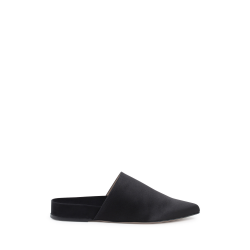 Stuart Weitzman Womens Slipper Black STUDIO