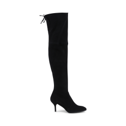 Stuart Weitzman Womens High Boot Black TIEMODEL
