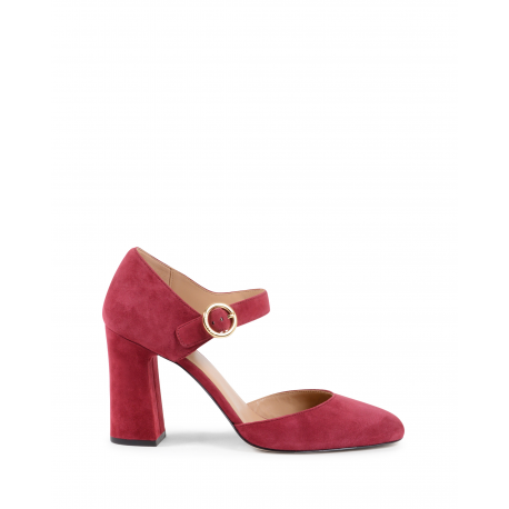 Michael Kors Womens Mary Jane Pump Bordeaux ALANA