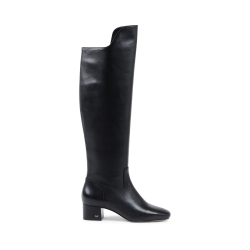 Michael Kors Womens High Boot Black BLAINE