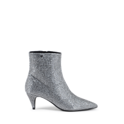 Michael Kors Womens Ankle Boot Silver BLAINE