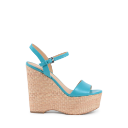 Michael Kors Damen Wedge Sandale Hellblau FISHER