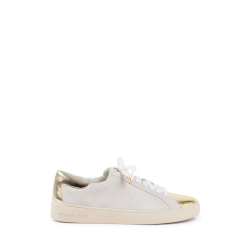 Michael Kors Womens Sneaker White Gold FRANKIE