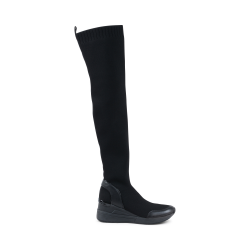 Michael Kors Womens High Boot Black GROVER