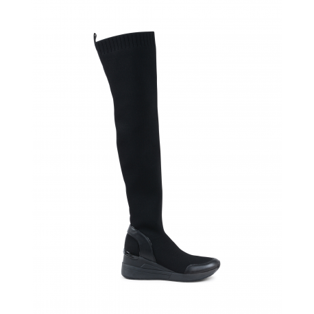 Michael Kors Damen High Boot Black GROVER