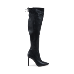 Michael Kors Damen High Boot Schwarz JAMIE
