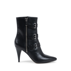 Michael Kors Womens Ankle Boot Black LORI