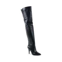 Michael Kors Damen High Boot Schwarz ROSALYN
