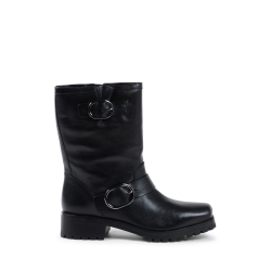 Michael Kors Womens Short Boot Black ROSARIO