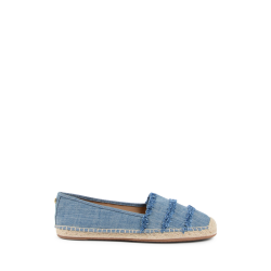 Michael Kors Womens Slip On Espadrille Blue Denim TIBBY