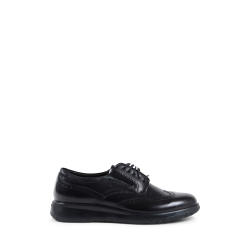 Fratelli Rossetti Mens Lace Up Shoe Black 45976 LEICESTER NERO