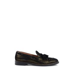 Fratelli Rossetti Womens Loafer Multicolor 65940 GOLDLINE NERO