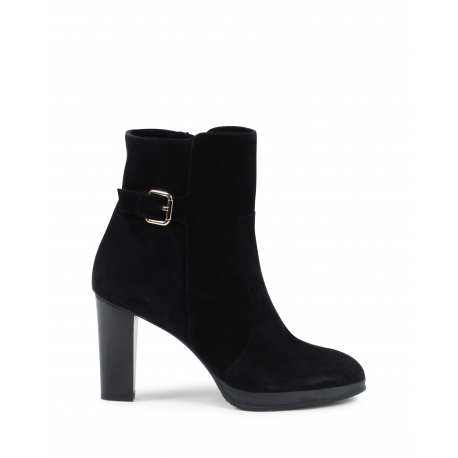 Fratelli Rossetti Womens Ankle Boot Black 65967 SUEDE NERO