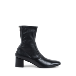 Fratelli Rossetti Damen Ankle Boot Schwarz 66085 NAPPA STRETCH NERO