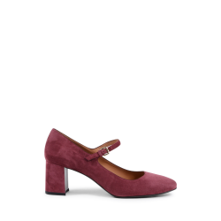 Fratelli Rossetti Womens Mary Jane Pump Bordeaux 66145 SUEDE BORDO