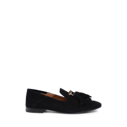 Fratelli Rossetti Womens Loafer Black 66351 SUEDE NERO