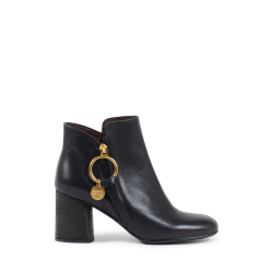Chloè Damen Ankle Boot Schwarz SB31148A 999 BLACK
