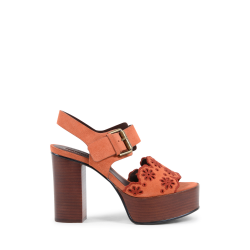 Chloé Womens Sandal Orange SB32104? PHARD