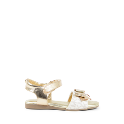 Michael Kors Girls Flat Sandal Gold ZIA DEMI DIN GOLD