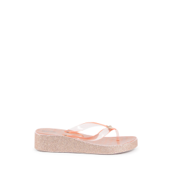Michael Kors Girls Multicolor Flip Flop ZIA GAGE KILEY ROSE GOLD