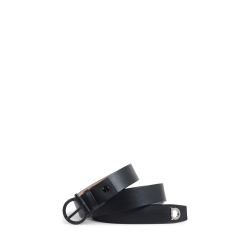 Salvatore Ferragamo Mens Mens Adjustable Belt Black 679951 694934