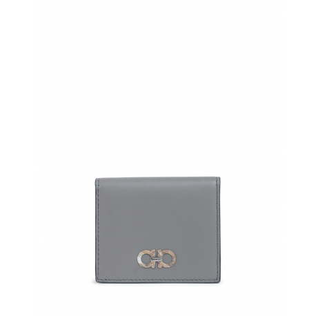 Salvatore Ferragamo Mens Change Purse Grey 66A155 690019