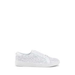 Michael Kors Girls Sneaker White ZIA IVY ACE WHITE GLITTER
