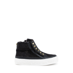 Michael Kors Girls High Sneaker Black ZIA LEMON ROCK BLACK