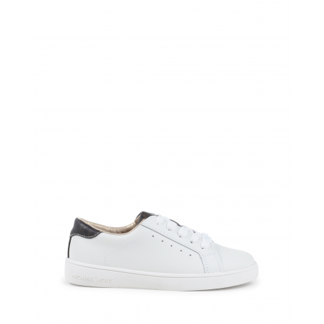 Michael Kors Girls Sneaker White ZIA IVY ALISHA WHITE BROWN