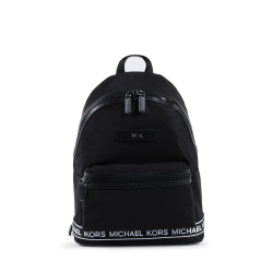 Michael Kors Mens Backpack Black White 37S0SKNB2C BLK/WHT